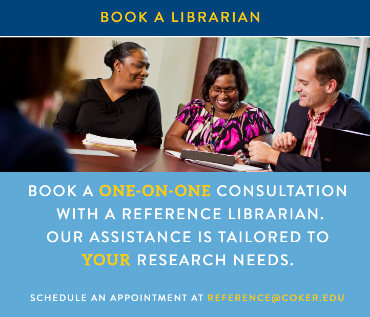 Contact a reference librarian for research help